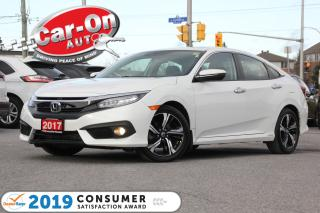 Used 2017 Honda Civic Touring LEATHER NAV SUNROOF REAR CAM ADAPTIVE CRUI for sale in Ottawa, ON