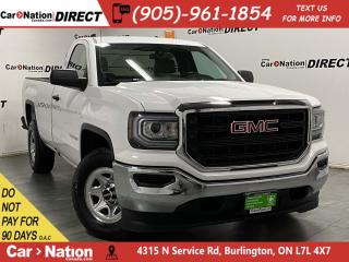 Used 2018 GMC Sierra 1500 | BACK UP CAMERA| ONE PRICE INTEGRITY| for sale in Burlington, ON