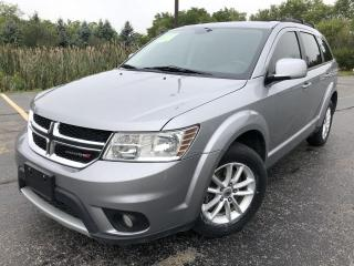 Used 2018 Dodge Journey SXT AWD for sale in Cayuga, ON