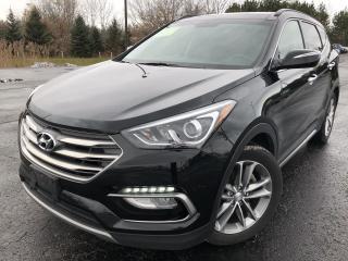 Used 2018 Hyundai SANTA FE ULTIMATE 2.0T AWD for sale in Cayuga, ON