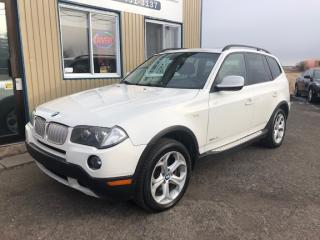 Used 2010 BMW X3 30i + Cuir + Toit for sale in Mirabel, QC