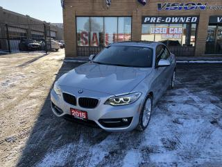 Used 2015 BMW 2 Series 2dr Cpe 228i xDrive AWD-2 SETS RIMS TIRES-NAVI for sale in North York, ON