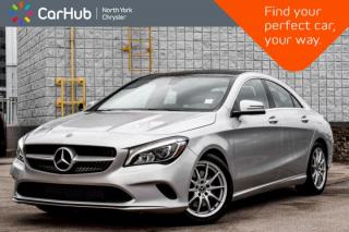 Used 2018 Mercedes-Benz CLA-Class 250|PanoSunroof|Nav|WiFi|Bluetooth|Mem/HeatSeats|Blindspot for sale in Thornhill, ON