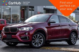 Used 2016 BMW X6 xDrive35i Sunroof HeadUp Display HK Sound Bluetooth Heated Seats for sale in Thornhill, ON