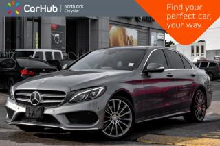 Used 2015 Mercedes-Benz C-Class C 400|AMG-Styling.Driving.Dynamics.Pkgs|Burmester.Audio| for sale in Thornhill, ON