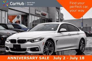 Used 2018 BMW 4 Series 440i xDrive HUD Sunroof Harman/Kardon Sound Keyless Go Nav for sale in Thornhill, ON