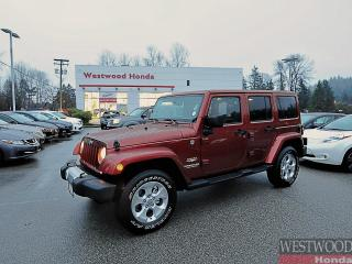 Used 2014 Jeep Wrangler Unlimited Sahara for sale in Port Moody, BC