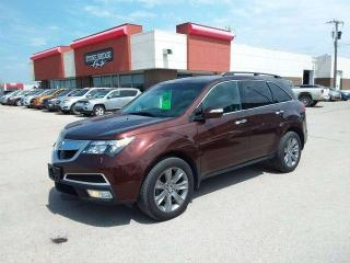 Used 2011 Acura MDX Elite Pkg 4dr AWD 4 Door Sport Utility for sale in Steinbach, MB