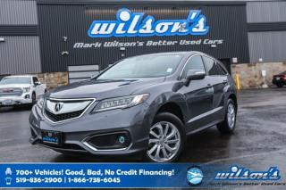 Used 2017 Acura RDX Tech Pkg, Navigation, Leather, Sunroof, Front + Rear Heated Seats, Bluetooth, Rear Camera and more! for sale in Guelph, ON