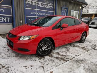 Used 2012 Honda Civic Lx + mag + pneus d'hiver for sale in Boisbriand, QC