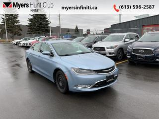 Used 2015 Chrysler 200 C  - Leather Seats -  Bluetooth for sale in Ottawa, ON