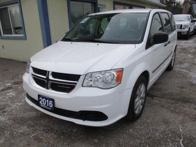 2016 Dodge Grand Caravan FAMILY MOVING SE PLUS EDITION 7 PASSENGER 3.6L - V6.. MIDDLE BENCH.. REAR STOW-N-GO.. ECON-BOOST PACKAGE.. BACK-UP CAMERA.. CD/AUX INPUT..