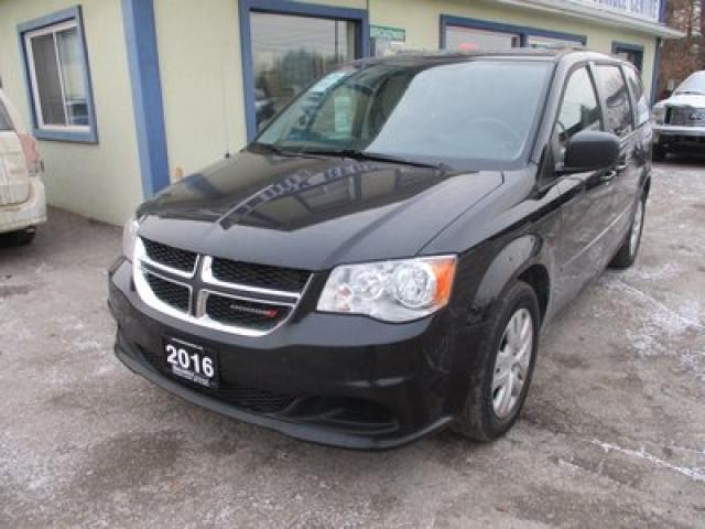 2016 Dodge Grand Caravan FAMILY MOVING SXT EDITION 7 PASSENGER 3.6L - V6.. CAPTAINS.. STOW-N-GO.. ECON-BOOST PACKAGE.. POWER WINDOWS.. CD/AUX INPUT..