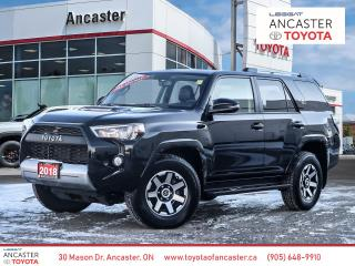 Used 2018 Toyota 4Runner SR5 TRD OFFROAD PACKAGE - NAVI|SUNROOF|LEATHER for sale in Ancaster, ON