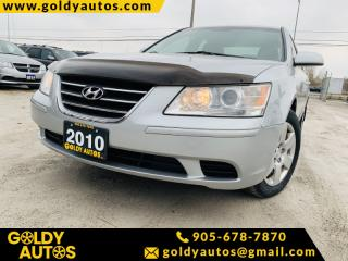Used 2010 Hyundai Sonata 4dr Sdn I4 Auto GL for sale in Mississauga, ON
