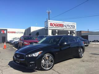 Used 2015 Infiniti Q50 - 2.99% Financing | 6 Months Deferral - SPORT AWD - NAVI - SUNROOF - REVERSE CAM for sale in Oakville, ON