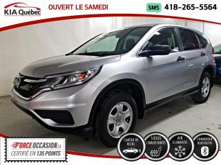 Used 2016 Honda CR-V LX* MAGS* CAMERA* SIEGES CHAUFFANTS* for sale in Québec, QC