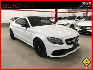Used 2017 Mercedes-Benz C-Class C63 S AMG COUPE AMG NIGHT HUD DISTRONIC PREMIUM for sale in Vaughan, ON
