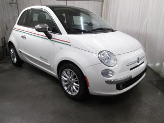 Used 2012 Fiat 500 Voiture à hayon 2 portes Lounge for sale in Laval, QC