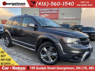 Used 2017 Dodge Journey CROSSROAD | DVD PLAYER | NAVI | B/U CAM | LOW KM for sale in Georgetown, ON