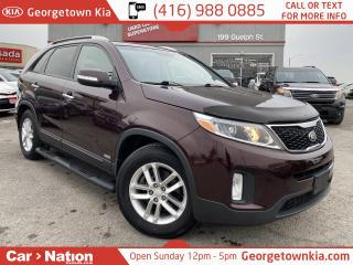 Used 2015 Kia Sorento LX PREMIUM | AWD | LEATHER | LOW KMS | B/U CAM | for sale in Georgetown, ON