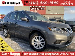 Used 2015 Nissan Rogue S | AWD | BACK UP CAM | HEATED SEATS | XM RADIO for sale in Georgetown, ON