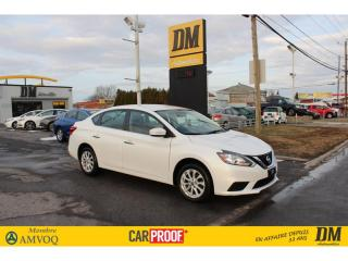 Used 2016 Nissan Sentra SV CAMÉRA DE RECUL  SIÈGES CHAUFFANTS for sale in Salaberry-de-Valleyfield, QC