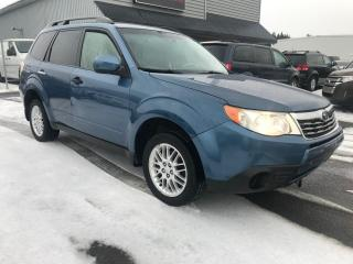 Used 2009 Subaru Forester 2.5X for sale in Mirabel, QC