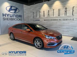 Used 2015 Hyundai Sonata ULTIMATE+2.0T+NAVI GPS+CUIR+TOIT PANO for sale in Sherbrooke, QC