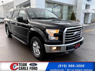 Used 2017 Ford F-150 Ford F-150 XLT 2017 S/CREW, Caméra de re for sale in Gatineau, QC