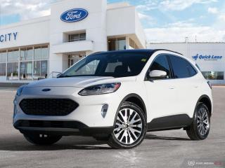 New 2020 Ford Escape Titanium for sale in Winnipeg, MB