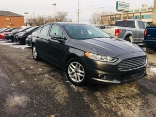 Used 2016 Ford Fusion Se cuir + nav for sale in Drummondville, QC