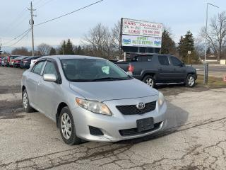 Used 2010 Toyota Corolla CE for sale in Komoka, ON
