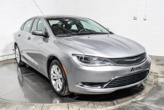 Used 2016 Chrysler 200 LIMITED BLUETOOTH MAGS for sale in St-Hubert, QC