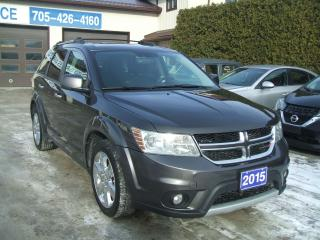 Used 2015 Dodge Journey RT , AWD for sale in Beaverton, ON