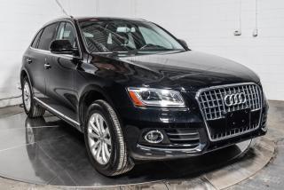 Used 2016 Audi Q5 PROGRESSIV QUATTRO CUIR TOIT MAGS for sale in St-Constant, QC