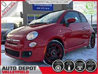 Used 2012 Fiat 500 SPORT + CUIR, TOIT, MAGS for sale in Salaberry-de-Valleyfield, QC