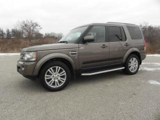 Used 2010 Land Rover LR4 HSE LUX OVERLAND OUTBOUND EDITION #3487 for sale in Brantford, ON