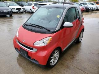 Used 2009 Smart fortwo 2dr Cpe PASSION Panoramic Roof for sale in Winnipeg, MB