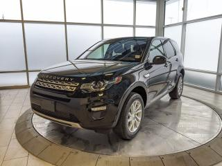 Used 2017 Land Rover Discovery Sport HSE - Certified Pre-Owned Warranty Until March 24, 2022 or 160,000 Kilometres, with Certified Rates from 2.9% for sale in Edmonton, AB