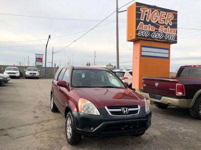 2002 Honda CR-V EX**4X4**4 CYLINDER**GREAT FOR WINTER**AS IS