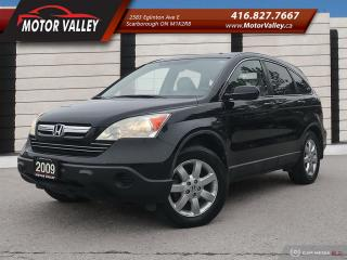 Used 2009 Honda CR-V EX-L 4WD Leather - SunRoof Loaded! for sale in Scarborough, ON