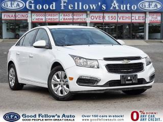 Used 2016 Chevrolet Cruze LT MODEL, REARVIEW CAMERA for sale in Toronto, ON