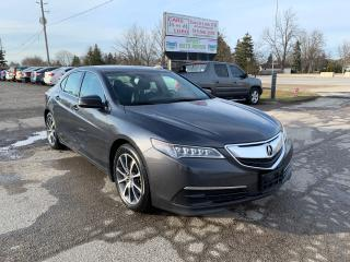 Used 2015 Acura TLX V6 Tech for sale in Komoka, ON