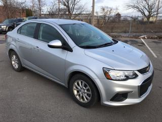 Used 2017 Chevrolet Sonic LT ** HTD SEATS, BACKUP CAM, AUTOSTART  ** for sale in St Catharines, ON