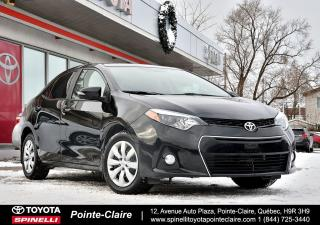Used 2015 Toyota Corolla SPORT GROUPE ÉLECTRIQUE for sale in Pointe-Claire, QC