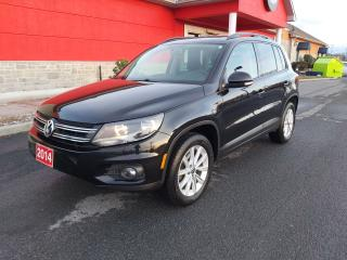 Used 2014 Volkswagen Tiguan Highline for sale in Cornwall, ON