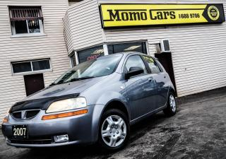 Used 2007 Pontiac Wave SE | GREAT PRICE | CERTIFIED for sale in St. Catharines, ON