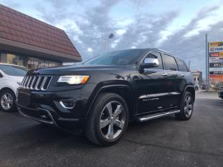 Used 2015 Jeep Grand Cherokee Overland for sale in Cobourg, ON