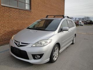Used 2008 Mazda MAZDA5 MANUAL, 6 Passengers, Leather for sale in Oakville, ON